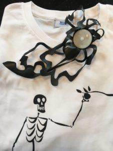 trauerkerzen auf gedruckten t-shirts vom forumladen